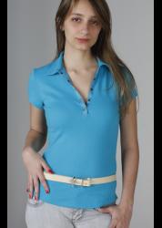 101 – Blusa Polo com vista em gorgurão